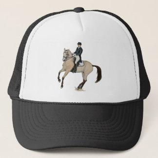 Gorra De Camionero Arte magnífico del caballo del Dressage del ante