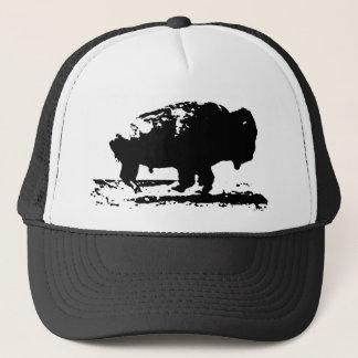 Gorra De Camionero Arte pop corriente del bisonte del búfalo