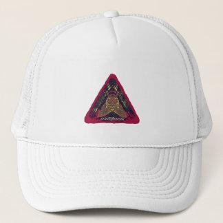 Gorra De Camionero ¿artefactos - algo en su mente? logotipo rosado v2