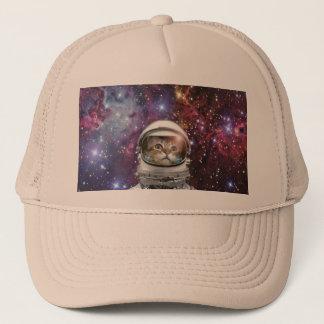 Gorra De Camionero Astronauta del gato - gato loco - gato