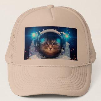 Gorra De Camionero Astronauta del gato - gatos en espacio - espacio