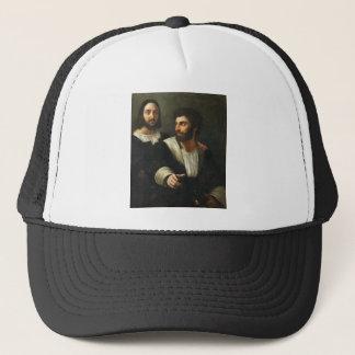 Gorra De Camionero Autorretrato con un amigo por Raphael