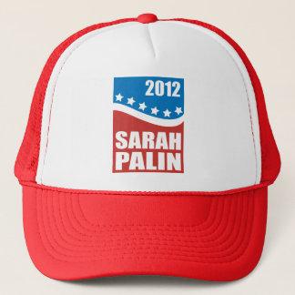 Gorra De Camionero Azul blanco rojo de Sarah Palin