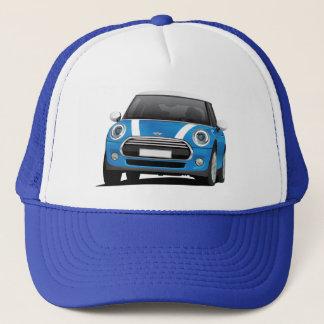 Gorra De Camionero Azul de Mini Cooper S (F56) con las rayas blancas