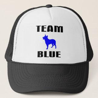Gorra De Camionero Azul del equipo