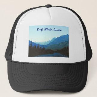 Gorra De Camionero Azul del jaspe de Banff