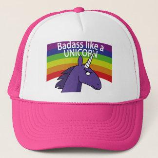 Gorra De Camionero ¡Badass tiene gusto de un unicornio!