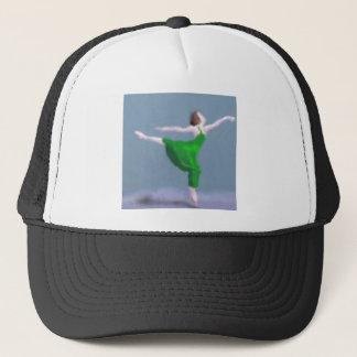 Gorra De Camionero Bailarina en arte verde