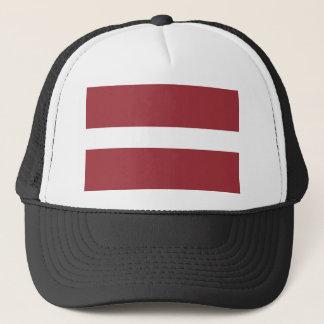 Gorra De Camionero ¡Bajo costo! Bandera de Letonia