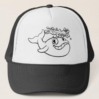 Gorra De Camionero Ballena del dibujo animado