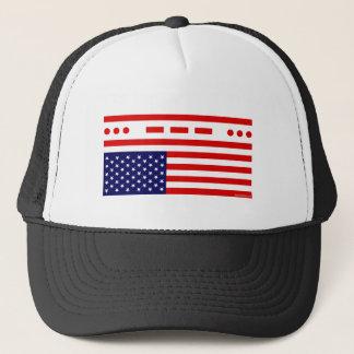 Gorra De Camionero Bandera americana de la desolación el SOS