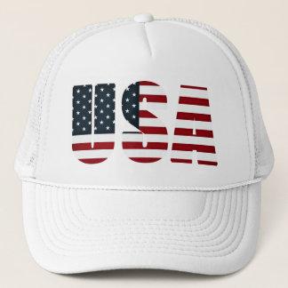 Gorra De Camionero bandera americana - los E.E.U.U.