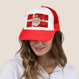 Gorra De Camionero Bandera-Capa danesa de brazos