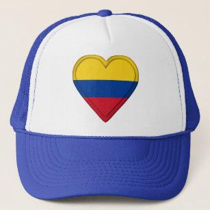 Gorra De Camionero Bandera colombiana de Colombia 281e6bc0fc6