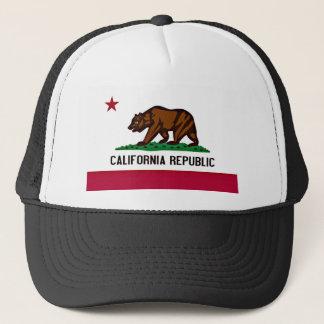 Gorra De Camionero Bandera de California