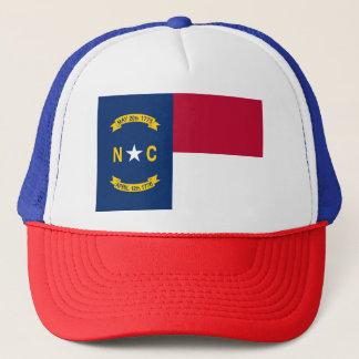 Gorra De Camionero Bandera de Carolina del Norte