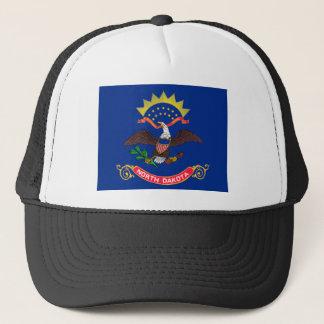 Gorra De Camionero Bandera de Dakota del Norte
