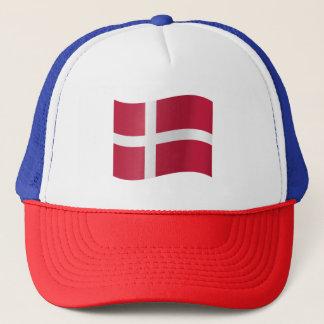 Gorra De Camionero Bandera de Dinamarca