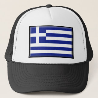 Gorra De Camionero Bandera de Grecia