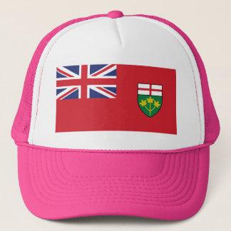 Gorra De Camionero Bandera de Ontario