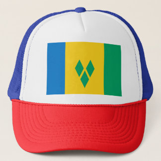 Gorra De Camionero Bandera de San Vicente y las Granadinas