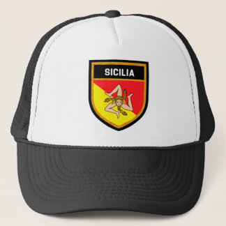 Gorra De Camionero Bandera de Sicilia