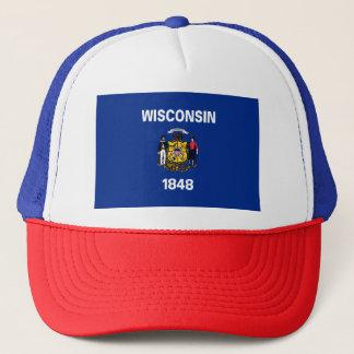 Gorra De Camionero Bandera de Wisconsin