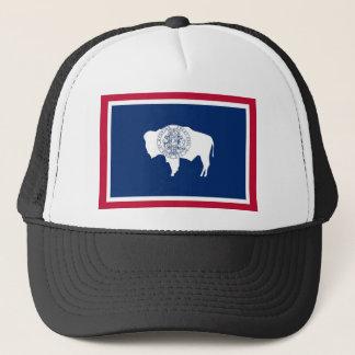 Gorra De Camionero Bandera del estado de Wyoming