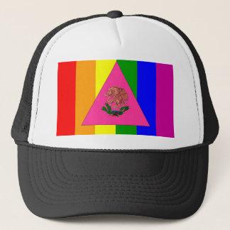 Gorra De Camionero Bandera mexicana del orgullo gay