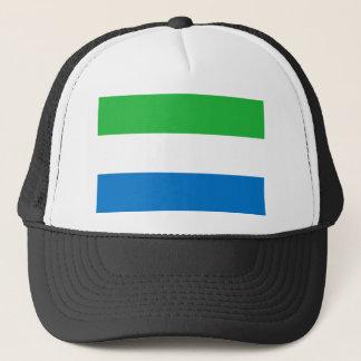 Gorra De Camionero Bandera nacional del mundo del Sierra Leone