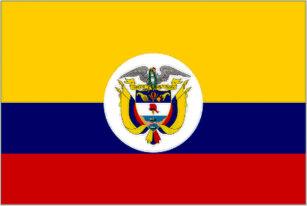 Gorra De Camionero Bandera naval de la bandera de Colombia d931a20b4f4