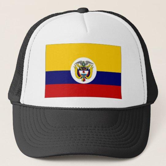 Gorra De Camionero Bandera naval de la bandera de Colombia  2940dd5e62a