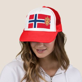 Gorra De Camionero Bandera noruega