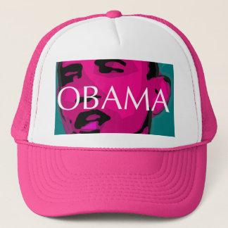 Gorra De Camionero Barack Obama, gran casquillo rosado