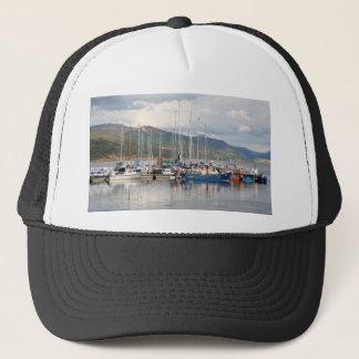 Gorra De Camionero Barcos en Kyleakin, isla de Skye, Escocia