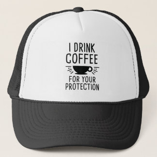 Gorra De Camionero Bebo el café