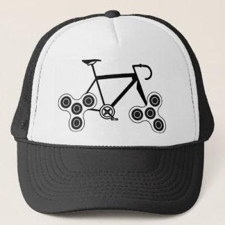 Gorra De Camionero Bici del hilandero de la persona agitada