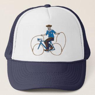 Gorra De Camionero Bici del montar a caballo del vaquero con las