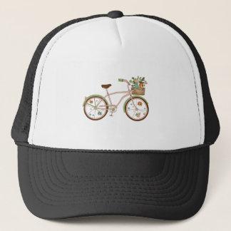 Gorra De Camionero Bicicleta retra con karzinkoy para las flores