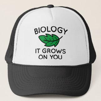 Gorra De Camionero Biología que crece en usted