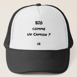 Gorra De Camionero ¿BIOLÓGICO COMO UN CAMIÓN? - Juegos de palabras
