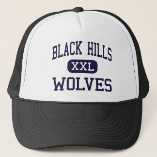 Gorra De Camionero Black Hills - lobos - alto - Tumwater Washington