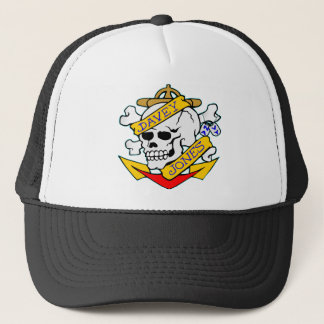 Gorra De Camionero blk_davy_jones_skull