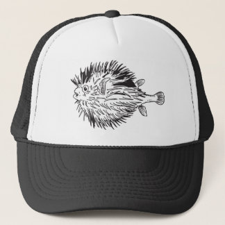 Gorra De Camionero Blowfish del Porcupinefish aka