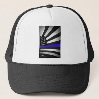 Gorra De Camionero Blue Line fino
