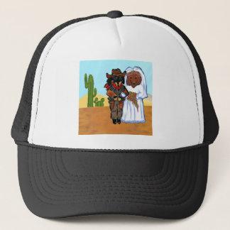 Gorra De Camionero Boda del vaquero de Doxie