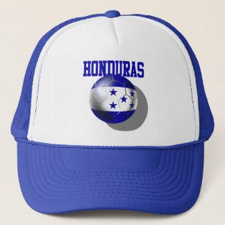 Gorra De Camionero Bola 2014 de la bandera del Brasil Honduras del