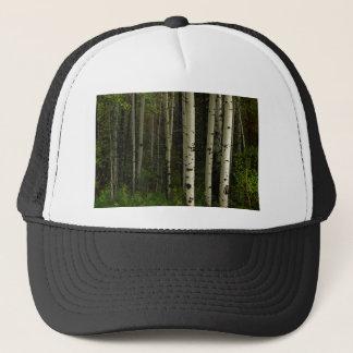 Gorra De Camionero Bosque blanco