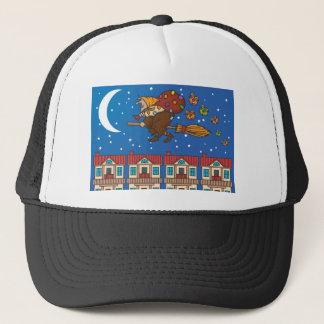 Gorra De Camionero bruja Befana de Navidad