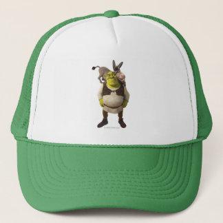Gorra De Camionero Burro y Shrek